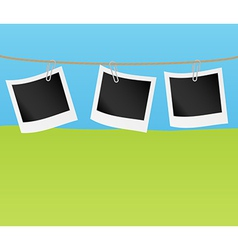 photo frame collection vector image vector image