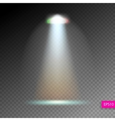 scene illumination show bright lighting with vector image vector image