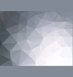 abstract dark gray geometric background vector image