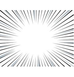 Comic speed line vector