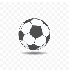 football ball icon in trendy flat style vector image