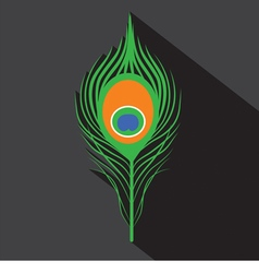 Peacock Feathers Symbol vector