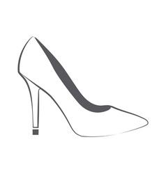 Womans shoe vector