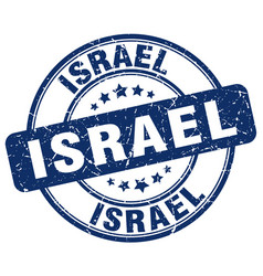 Israel stamp vector