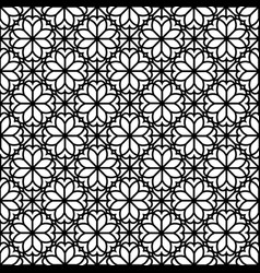 abstract floral seamless pattern arabic ornament vector image