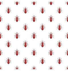 Ant pattern cartoon style vector image