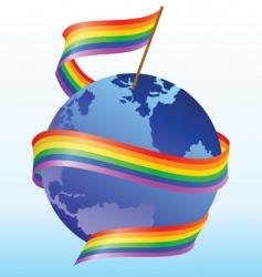 Flag rainbow vector