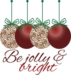 Jolly and Bright vector