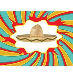 Mexican hat sombrero2 vector