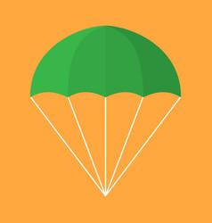 parachute icon vector image
