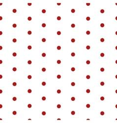 Polka dot seamless pattern background vector