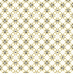 Brown Blue And White Graphic Seamless Pattern vector image vector image