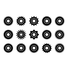 gear collection vector image