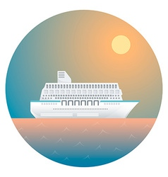 Ship Detailed vector image