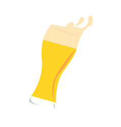 Abstract delicious beer vector