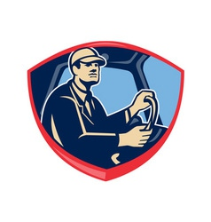 Bus Truck Driver Side Shield vector