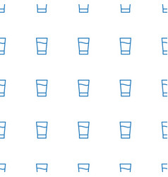 drink icon pattern seamless white background vector image