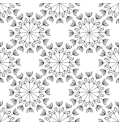 seamless black-and-white vector image