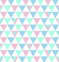 Tuekey Top Colors Background Triangle Polygon vector image