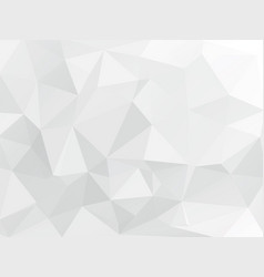 white gray geometric wallpaper background vector image