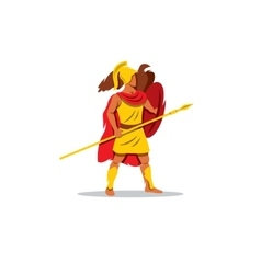 Ares sign The Mythological Greek god of light vector image vector image