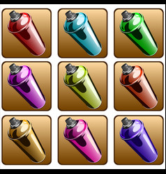 spray paint vector image