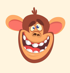 298monkey vector image