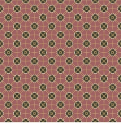 Black And Pink Graphic Seamless Pattern vector image