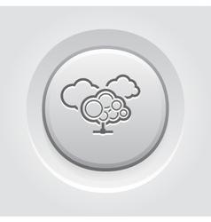 Cloud services icon vector