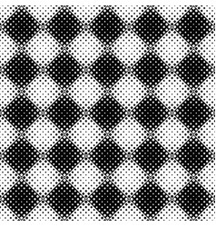 seamless abstract monochrome rounded square vector image