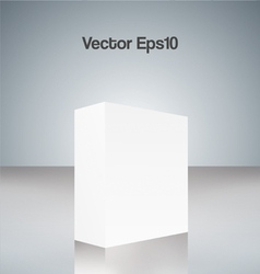 White cube vector