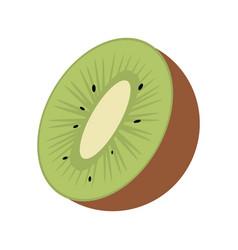 kiwi tropical fruit icon vector image