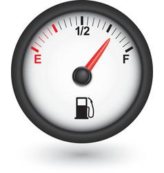 Car fuel gauge vector image vector image