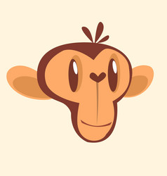 299monkey vector image