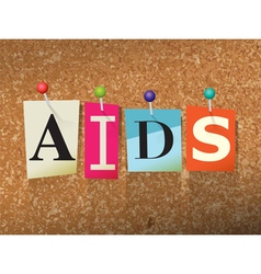 AIDS Concept vector image