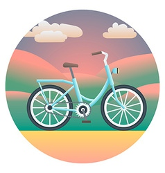 Bicycle detailed vector