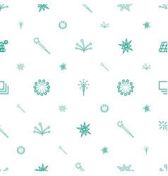 burst icons pattern seamless white background vector image