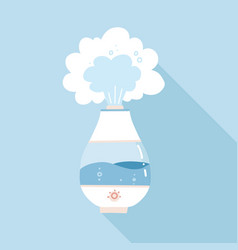 Design humidifier and appliance sign web vector