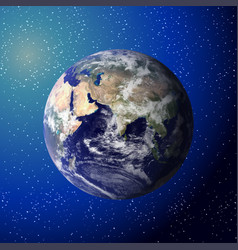 earth seen from space elements of this furnished vector image
