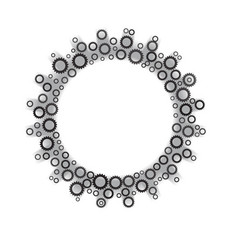 gear from gears icon vector image