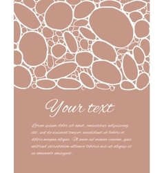 Hand drawn colored stones vector image