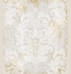 Imperial baroque ornament wallpaper background vector