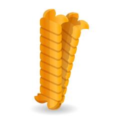 riccioli icon cartoon style vector image