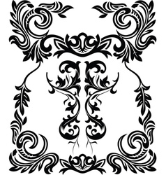 Vintage ornamental framets vector