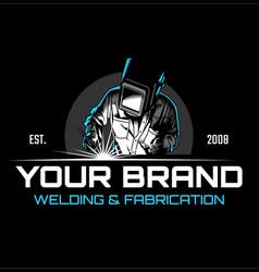 Welding logo vector