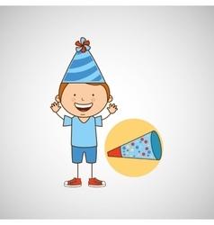 Happy birthday icon vector image vector image