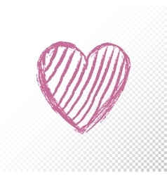 Valentines day icon heart vector