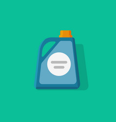 Detergent bottle icon flat cartoon style vector