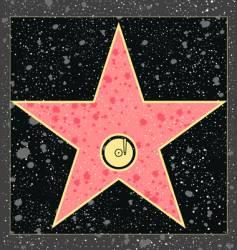 recording star vector image