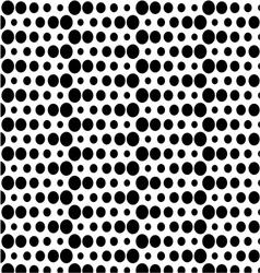 seamless polka background vector image